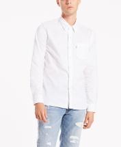 658240336 65824-0336 Sunset 1 Pocket Shirt White 17