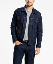723340134 72334-0134 The Trucker Jacket Rinse