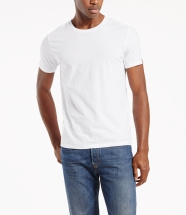 821760002 82176-0002 Slim Fit Tees (2-pack) White