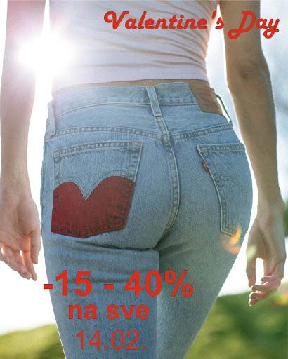 VALENTINOVO POPUST OD 15-40% NA CJELOKUPNI ASORTIMAN